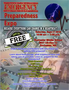 emergency expo flyer