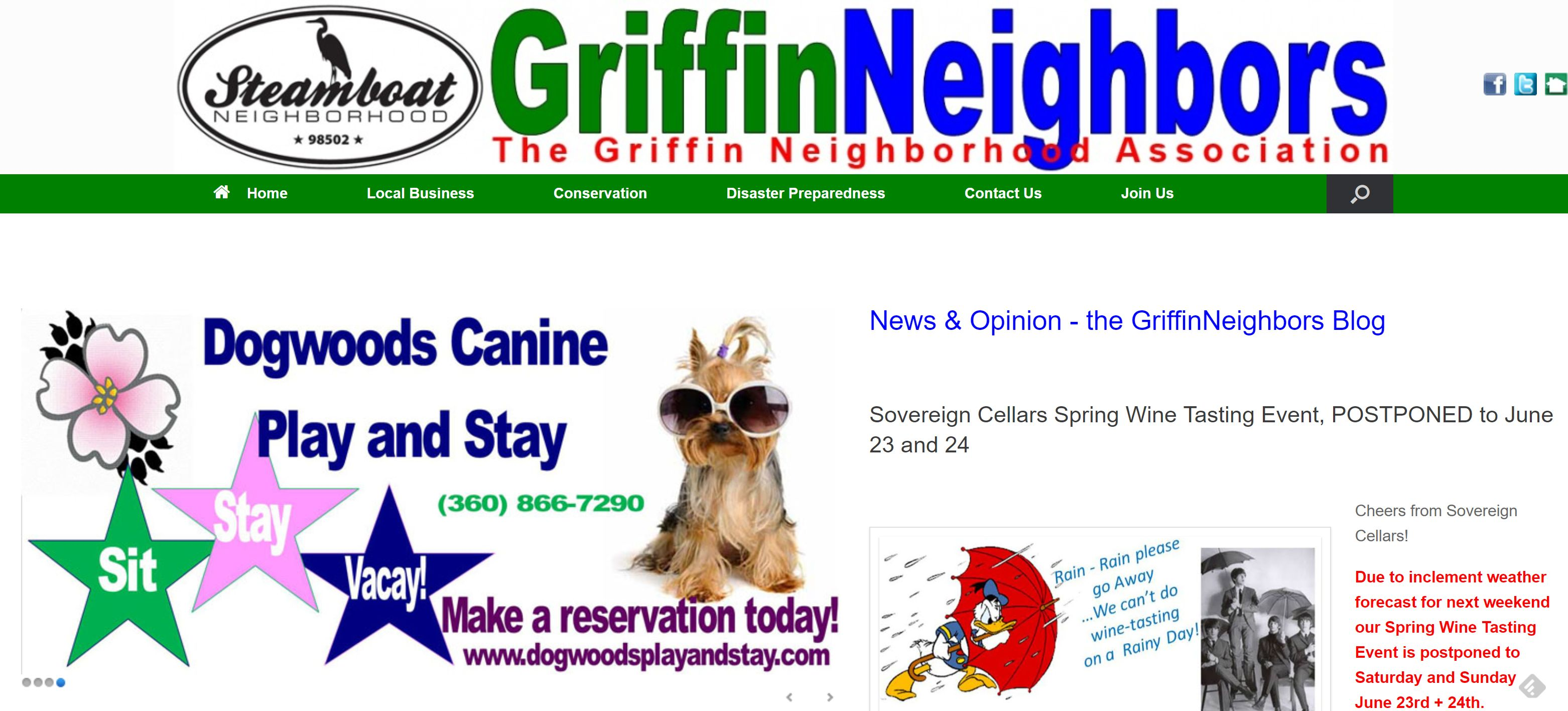 Your Local Business and Us – GriffinNeighbors
