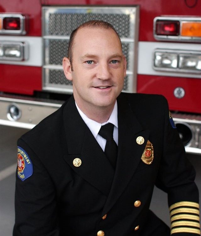 Fire Chief Corey Rux